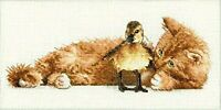 Dimensions NeedleCrafts Gold Petite Collection Cross Stitch, Furry Friends
