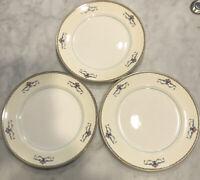 "Three (3) Vintage Pope And Gosser Melrose 10"" Dinner Plates"