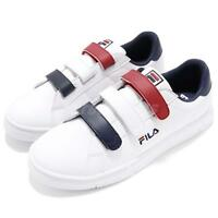 Fila C321S Low Strap White Navy Red Men Shoes Sneakers Trainers