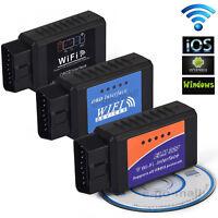 OBD2 OBDII  Mini ELM327 WiFi For IOS PC Car Diagnostic Interface Scanner Tool