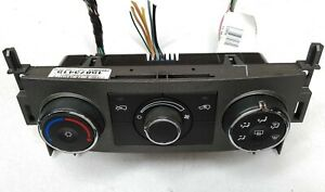 2006-2011 Chevy HHR Manual A/C Heater Control Switch Unit 15873415 S22
