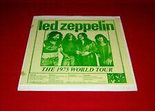 Led Zeppelin 2LPs THE 1975 WORLD TOUR us EX !!