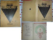 1937 Junior Handicraft project book