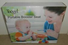 Toogel Nob Portable Booster Seat Travel Feeding Carrying Bag Folding High Chair
