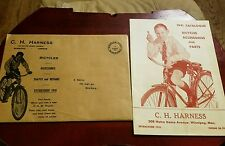 RARE Vintage Canadian 1941 C.C.M Bicycles & Accessories Catalog w/Envelope