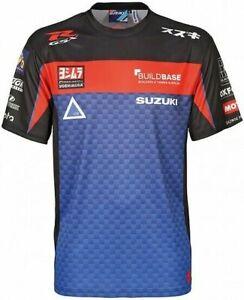 Brand New Genuine Suzuki BSB Team Sport Shirt Tee  990F0-B2ST1