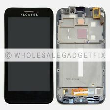 New Alcatel OneTouch Fierce 7024W 7024 LCD Display Screen Touch Digitizer Frame