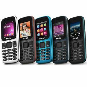 """BLU Z5 Z210 1.8"""" 2G Cell Phone 32MB VGA GSM Unlocked Dual SIM"""