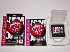 NBA Jam Complete in Box for Sega Game Gear CIB **TESTED & WORKS GREAT**