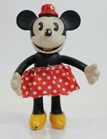 Walt Disney Minnie Mouse Schylling Disney Retro Collection Posable Vinyl Doll