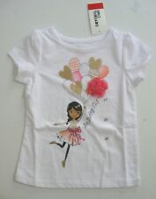 Birthday Girl Sz 2T Shirt~NWT~Glitter/Pink Dancer Epic Threads~Hispanic Age 1 2