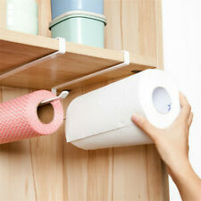 Kitchen Paper Holder Hanger Tissue Roll Towel Rack Bathroom Toilet Sink Door