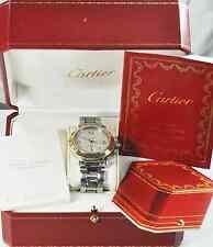 Cartier Pasha Automatic Power Reserve 18k Bezel 38mm S/S Case Cabochon Crown