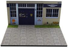 Diorama présentoir Jensen - Garage Watson & Baker - 1/43ème - #43-2-C-B-013