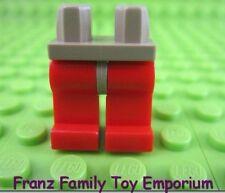 LEGO Santis Minifig Red LEGS Dark Tan HIPS Castle Knight Kingdom Body Part 8877