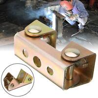 2Pcs Magnetic V Type Welding Adjustable Clamp Holder Suspender Fixture Solder #