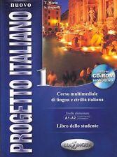 Progetto Italiano 1: Libra Della Studente Corso Multimediale Di... 9789606632242