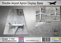 Coastal Kits 1:144 Scale Double Airport Apron Display Base