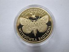 dukat lokalny 10 motylków wstęgówka bagienna  MN 13 gram