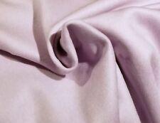 Soft Lavender Wool-Cashmere Melton Coating