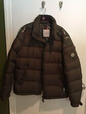 Moncler Army Green Down Puffer Jacket Coat US 4XL