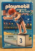 Playmobil Sports & Action Olympic Swimmer Diver Set RETIRED #5198 NEW