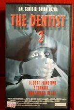 The Dentist 2 (1998) VHS Digivision 1a Ed.  Brian Yuzna