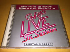GRP LIVE in SESSION cd DAVE GRUISIN dian schuur LEE RITENOUR dave valentin
