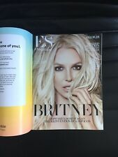 ES MAGAZINE BRITNEY SPEARS 03.08.18 AWESOME 4 PAGE ARTICLE