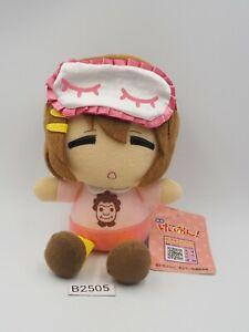 "K-On! B2505 Yui Hirasawa Lawson 6"" Plush Stuffed TAG Toy Doll Japan"