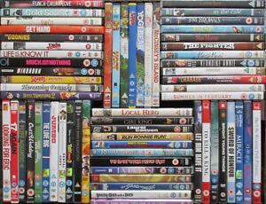 Various DVDs from £1.50 - Cert U/PG/12 kids/family films