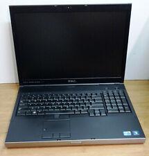 DELL PRECISION M6500 / I5 M520 CPU @2.4 GHZ / 8GB RAM / 480GB SSD / WIN 10 PRO /