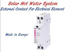 Solar Hot Water Thermal Heating Electrical Element Switching Contactor 25A 230V