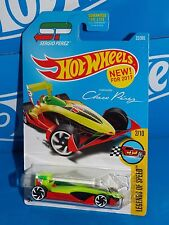 Hot Wheels NEW For 2017 Legends Of Speed #23 Speedy Perez Flor Yellow & Red