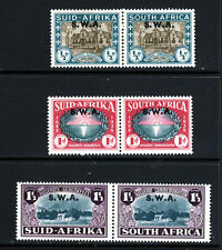 SOUTH WEST AFRICA 1939 Huguenot Landing Set Optd SWA SG 111 to  SG 113 MINT