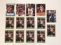 1989-90 FLEER #6 ISIAH THOMAS NBA DETROIT PISTONS LOT OF 14