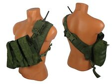 Tactical  molle bandolier paintball vest Airsoft army chest rig rus emr kit №27
