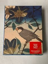 """THE METROPOLITAN MUSEUM OF ART, """"BIRDS AND FLOWERS"""", BOX SET OF 20 NOTE CARDS"""