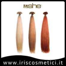 SHE HAIR EXTENSION CIOCCHE CHERATINA CM.55/60 CF.10 PZ NATURALI 100% REMY VERI