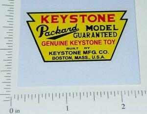 Keystone Packard Trucks Floor Sticker              KY-004