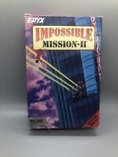 "Impossible Mission II Apple II GS Game 3.5"" disk Complete With Game, Box & More"
