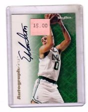 1996 Sky Box Authgraphics Eric Montross Autograph Basketball Card