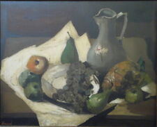 Willy Frissen 1938 Huile/toile Nature morte.v100