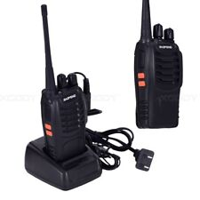 1x Baofeng BF-888S Walkie Talkies UHF 400-470MHz con auricular 16 canal 5W VOX