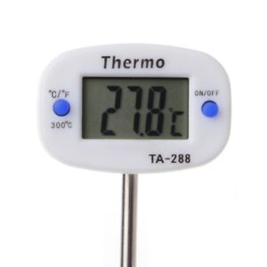 Pin Shape Digital Termometer Instant Read Kitchen Cooking Thermometer