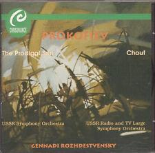 Prokovjev-Prodigal Son-CHOUT balletto-roshdestvensky-CD-Mel/consonanza