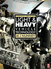 Light and Heavy Vehicle Technology, Fourth Edition-ExLibrary