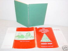 Vintage,Book,The Christmas That Almost Wasn't,Nash,Kids