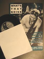 WHAT'S THAT NOISE NR. 9 - INDEPENDENT / PUNK FANZINE