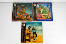 GRYPHON ~ JAPAN MINI LP CD x 3 ALBUMS, ORIGINAL, RARE, OOP